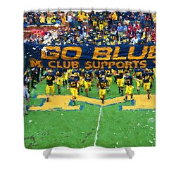 Wolverines Rebirth Shower Curtain