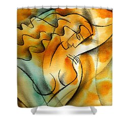 Woman Health Shower Curtain