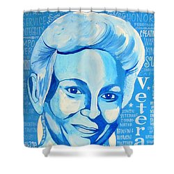 Woman Veteran Gabe Shower Curtain