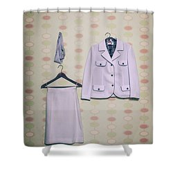 Woman's Clothes Shower Curtain by Joana Kruse
