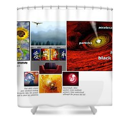 Womb With A View Shower Curtain