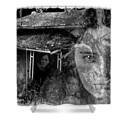 Women Of The House Shower Curtain by Seth Weaver