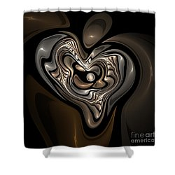 Women Strength Shower Curtain