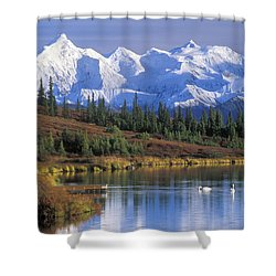Wonder Lake 2 Shower Curtain