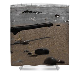 Wonder On This Beach Shower Curtain