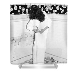 Shower Curtain featuring the photograph Wonder Wall by Steven Macanka