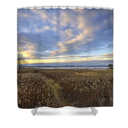 Wonderful Sunset Shower Curtain