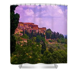Wonderful Tuscany Shower Curtain by Dany Lison