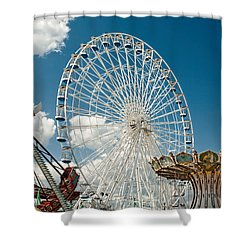 Wonderland Fun Shower Curtain