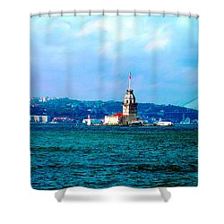 Wonders Of Istanbul Shower Curtain