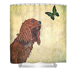 Wonders Of Nature Shower Curtain by Edward Fielding