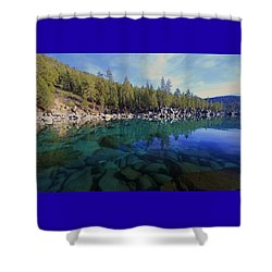 Shower Curtain featuring the photograph Wondrous Waters by Sean Sarsfield