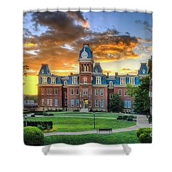 Woodburn Hall Evening Sunset Shower Curtain