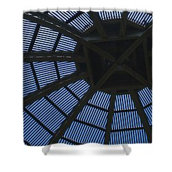 Wooden Dome Shower Curtain