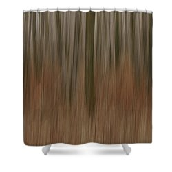 Woodland Dreams Shower Curtain by Penny Meyers