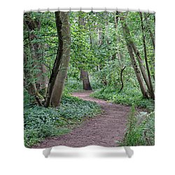 Woodland Path  Shower Curtain
