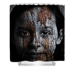Woodland Princess Shower Curtain by Christopher Gaston