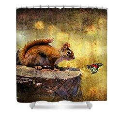 Woodland Wonder Shower Curtain