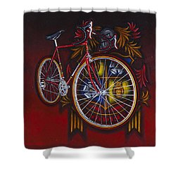 Woodrup Team 75 Shower Curtain