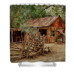 Wool Shed Shower Curtain