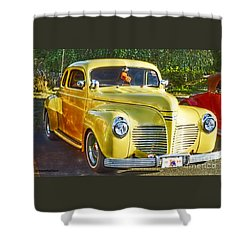 Work Of Art Shower Curtain