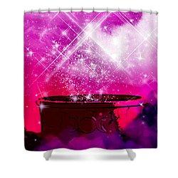Work The Magic Shower Curtain