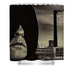 Working Class Man Shower Curtain by Bob Orsillo