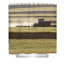 Working Farmer Shower Curtain by James BO  Insogna