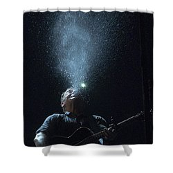 Working On The Highway Shower Curtain