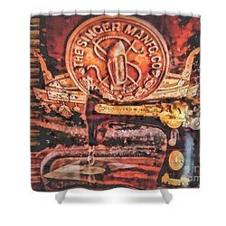 Workshop Shower Curtain by Mo T