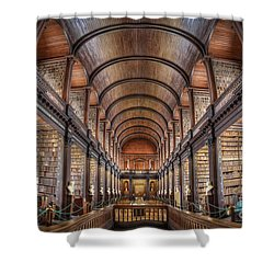 World Of Books Shower Curtain
