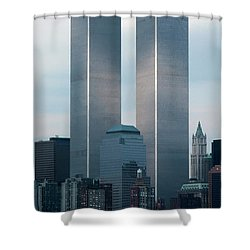 World Trade Center Shower Curtain