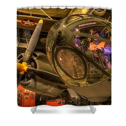 World War 2 Bomber Shower Curtain