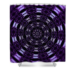 Wormhole Shower Curtain by Robyn King