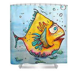 Big Charlie Shower Curtain