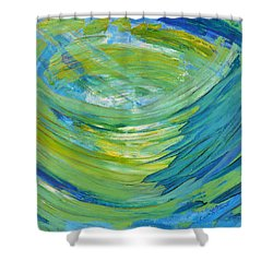 Worship Shower Curtain by Cassie Sears
