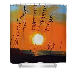 Worth Waiting For Shower Curtain by Keith Thue