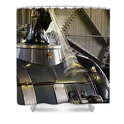 Woudagemaal Steam Engine. Shower Curtain