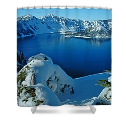 WOW Shower Curtain by Nick  Boren