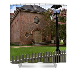 Wren Chapel At William And Mary Shower Curtain