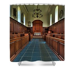 Wren Chapel Interior Shower Curtain