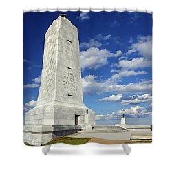 Wright Brothers Memorial D Shower Curtain