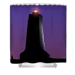 Shower Curtain featuring the photograph Wright Brothers Memorial by Greg Reed