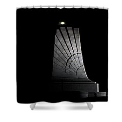 Shower Curtain featuring the photograph Wright Brothers Memorial II by Greg Reed