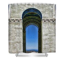 Wrigley's Memorial By Diana Sainz Shower Curtain