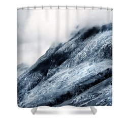 Wuthering Heights. Glencoe. Scotland Shower Curtain by Jenny Rainbow