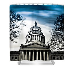 Wv State Capitol Building Shower Curtain