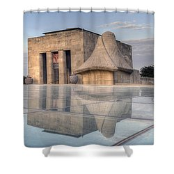 Wwi Museum  Shower Curtain