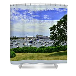 Wychmere Harbor Shower Curtain