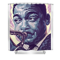 Wynton Marsalis Portrait 2 Shower Curtain
